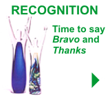 Recognition Awards - Time to say Bravo and Thanks!